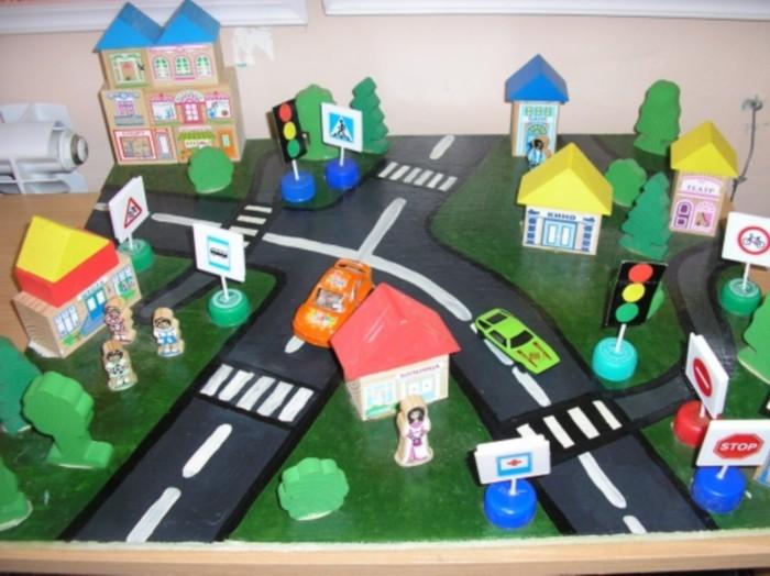 Поделки по правилам дорожного движения своими руками фото 118